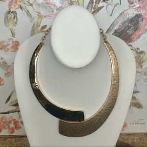 Robert Lee Morris Gold Plated Statement Necklace